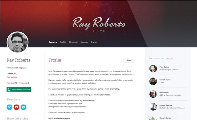 Ray Roberts on Hiive